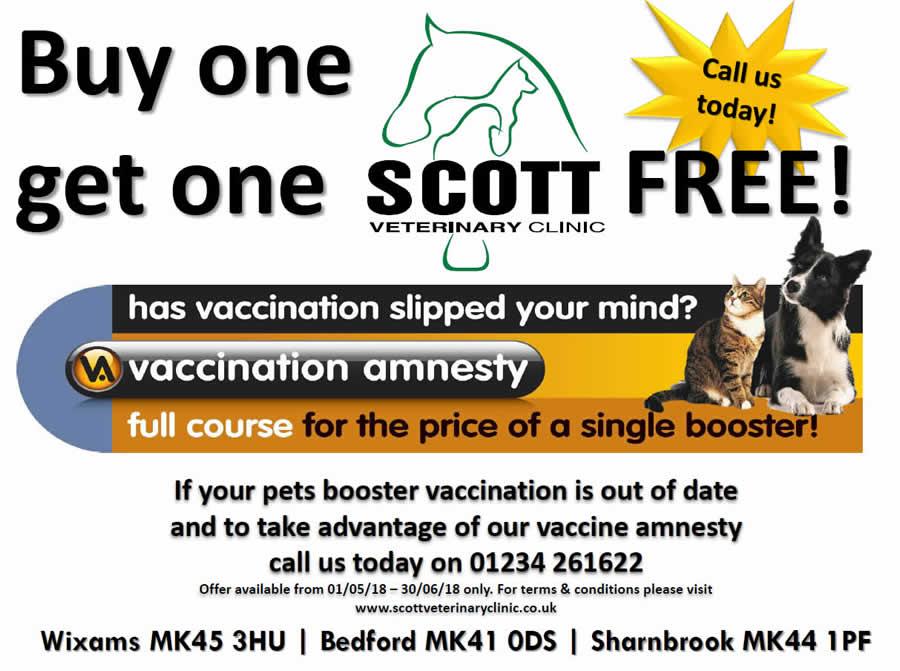 vaccine amnesty scott vets
